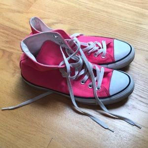 Converse chuck Taylor all star neon pink size 9